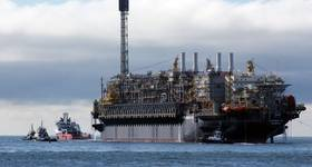 Petrobras started producing from the P-76 FPSO, the third platform in the Búzios Field, in the pre-salt of the Santos Basin, in February 2019 (Photo: Petrobras)