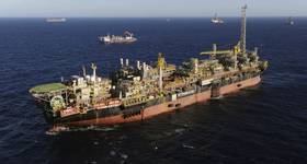 FPSO P-58, one of the main producers in Brazil (Photo: Petrobras)