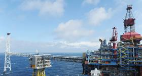 The Sleipner field in the North Sea. (Photo: Harald Pettersen / Equinor)