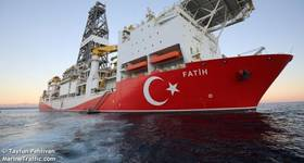 TPAO's Fatih Drillship - Image by Tayfun Pehlivan - Marine Traffic