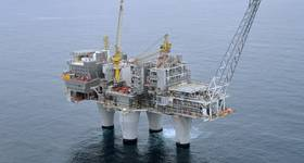 The Troll A platform in the North Sea (Photo: Harald Pettersen / Equinor)