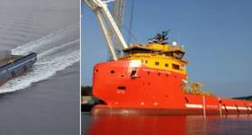 (L-R) Vestland Artemis and Norsea Fighter. Images: Vestland Offshore