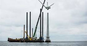 Vindeby, the world's first offshore wind farm, was decommissioned by DONG Energy, now Orsted, in 2016. (Photo: Orsted)