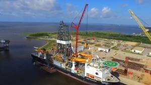 CMC Installed on Ocean Blackhawk Drillship