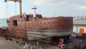 Shipbuilding Timelapse: Wind of Change