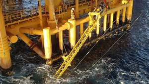 Grey areas: splashzone operations with the OceanTech VAT CREDIT: OceanTech