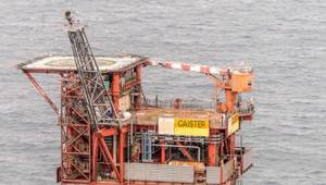Caister Platform to be removed (Photo: Chrysaor)