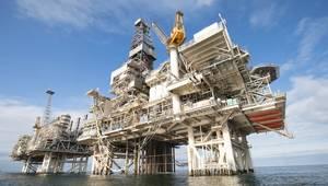 The Deepwater Gunashli platform in the Caspian Sea, offshore Azerbaijan (Photo: BP)