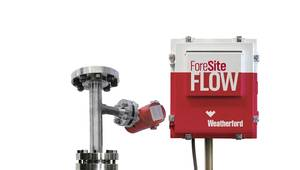 ForeSite Flow delivers full-range, non-nuclear flow insight for individual or group wells in real time. (Image: Weatherford)