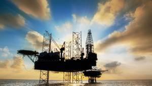 Illustration: Jack-up drilling rig; Image by xmentoys / AdobeStock