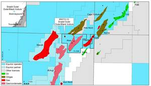 Norwegian Sea Gas Province an Oil Draw
