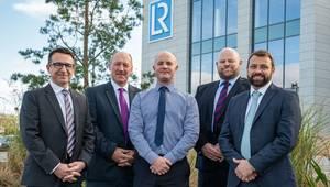 Melvin Banford, John O'Neill, Derek Harrold, Steve Harris and Matt Rothnie (Photo: Lloyd's Register)