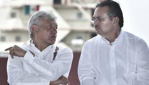 Mexico President Andres Manuel Lopez Obrador and Pemex Chief Executive Octavio Romero (Photo: Pemex)