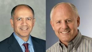 From left: Navin Mahajan and Dale Walsh (Photos: Chevron)