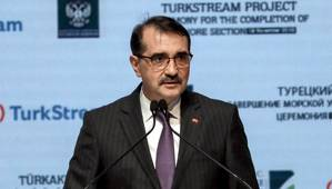 File photo: Turkey's Minister of Energy and Natural Resources Fatih Dönmez (Photo: Turkey Ministry of Energy and Natural Resources)