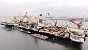 Pioneering Spirit (Photo: Hull Cleaner)