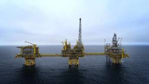 With a plateau production of 100,000 barrels of oil equivalent per day (boe/d), Culzean will account for around 5% of the UK's gas consumption (Photo: Total)
