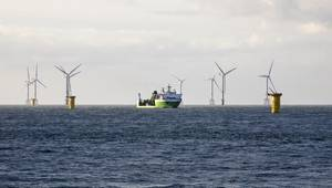 SeaMade Offshore Wind Farm. Image: DEME Group