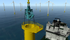 Lifting Stabilization Tool Advances Offshore Wind Turbine Installation