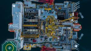 Siccar Point is using the Diamond Offshore semi-submersible drilling rig Ocean GreatWhite for its current five-month offshore drilling program (Photo: Siccar Point)