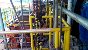 The Straightpoint and Crosby products were used where confined space and limited access were just two problems to overcome. (Photo: Straightpoint)