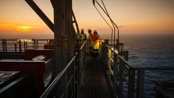 The West Hercules drilling rig. (Photo: Ole Jørgen Bratland)
