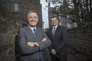 Mintra Group''s CEO Scott Kerr (left) and UK Managing Director Gareth Gilbert (Photo: Mintra Group)