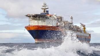 The Norne FPSO in the Norwegian Sea. Photo: Anne-Mette Fjærli/Equinor