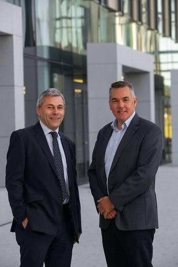 John Warrender, Chief Executive, Decom North Sea and Bill Cattanach, Head of Supply Chain at the OGA. (Photo: Decom North Sea)