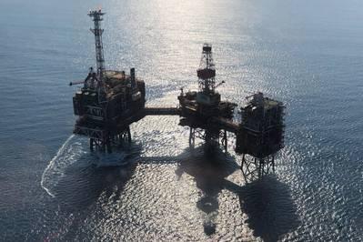 Το πεδίο φυσικού αερίου Rhum βρίσκεται στο μπλοκ 3 / 29α και είναι μια ανάπτυξη υποθαλάσσιου που συνδέεται πίσω στην πλατφόρμα Bruce μέσω μονωμένου αγωγού. (Φωτογραφία: Serica Energy)