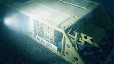 Компания Aker Solutions получила контракт на поставку подводной системы добычи и шлангокабелей для газового месторождения Линшуй 17-2 в Южно-Китайском море. (Изображение: Aker Solutions)