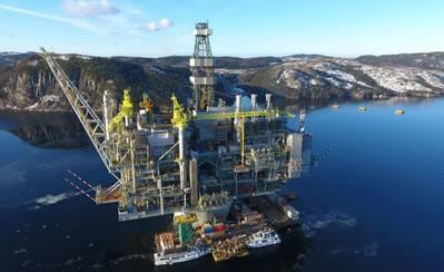 Куда пойти: канадская инфраструктура нефтяных месторождений направляется к морю (Фото: правительство Ньюфаундленда)