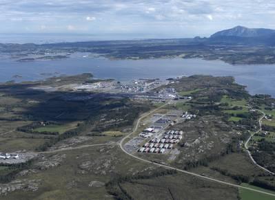 القيمة في نيهامنا: ساعد المستثمرون الماليون في بحر الشمال في إطلاق القيمة وإنشاء شركة جديدة من مصنع معالجة الغاز هذا وخطوط أنابيبها (الصورة: شل النرويج)