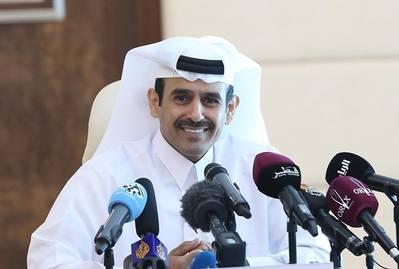سعد شريدة الكعبي ، وزير الدولة لشؤون الطاقة ، والرئيس والمدير التنفيذي لشركة قطر للبترول (تصوير: قطر للبترول)