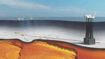 इक्विनोर के ट्रोल चरण 3 के विकास की एक कलाकार की छाप (छवि: इक्विनोर)