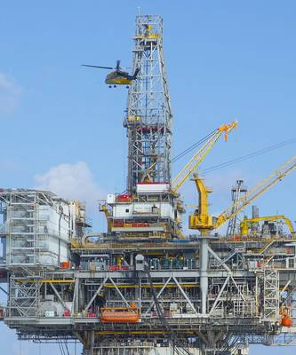 ファイル写真:メキシコ湾のBPのマッドドッグプラットフォーム(写真:BP)