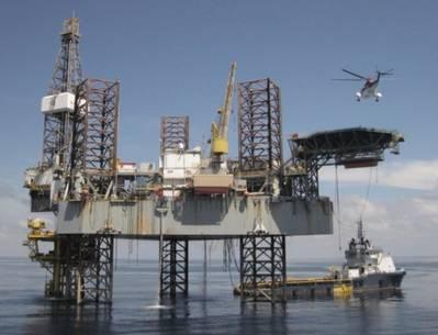 位置优越:货架钻井,浅水自升式钻井平台(照片:货架钻井)