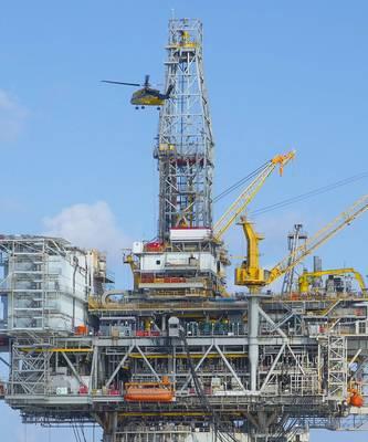 档案照片:位于墨西哥湾的BP's Mad Dog平台(图片:BP)
