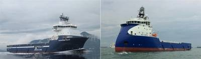 (LR)Normand Naley、Sea Supra。写真:Solstad Offshore ASA