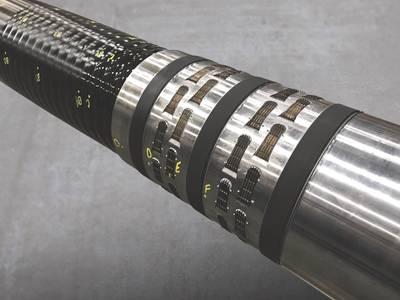 12-1 / 4 इंच x 7-5 / 8 इंच HPHT XPak परीक्षण नमूना (फोटो: ड्रिल-क्विप)