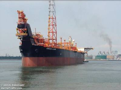 Armada Claire FPSO / Image by Ashok Ramasamy-海上交通