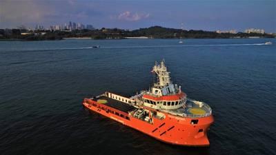 Bailey Sentinel, der seine Tätigkeit in der Nordsee aufgenommen hat. (Foto: Sentinel Marine)