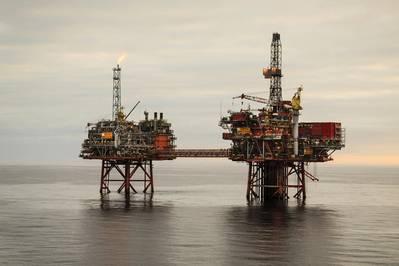 Capitão no Mar do Norte do Reino Unido (Foto: Chevron)