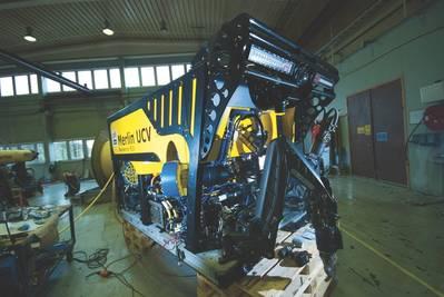 Das Merlin UCV im IKM-Werk in Bryne bei Stavanger, Norwegen. (Foto: IKM Subsea)