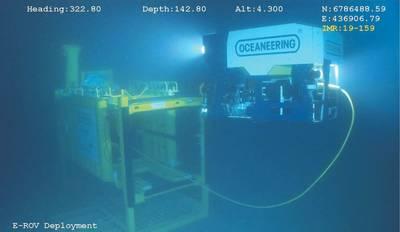 E-ROV (Φωτογραφία: Oceaneering)