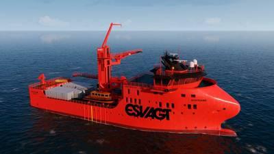 ESVAGTは、MHI Vestasの新しい831L設計で、2つのサービス運用船を提供します。写真:ESVAGT