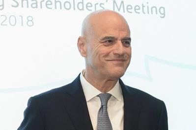 Eni首席执行官Claudio Descalzi(档案照片:Eni)
