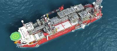 O FPSO Karish (Imagem: Energean Oil & Gas)