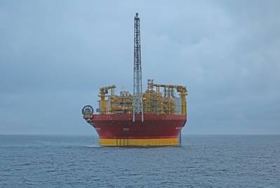 FPSO de Western Isles en el lugar (Imagen cortesía de Dana Petroleum)