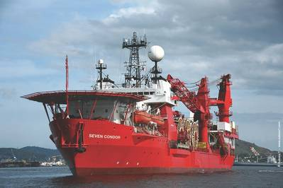 File Image: Um navio de apoio offshore da Subsea 7. CRÉDITO: Subsea 7